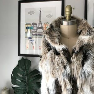 Zara • Faux Fur Vest